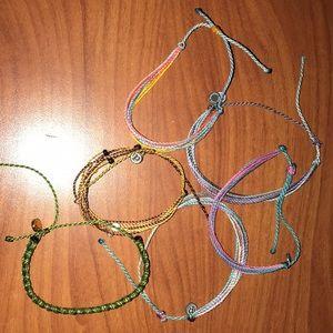 Bundle of Pura Vida bracelets